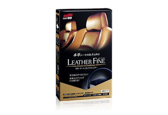 Bảo dưỡng ghế da Leather Fine Cleaner