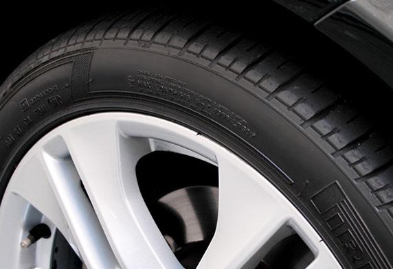 Kết quả sau khi sử dụng bóng lốp Tire Black Wax